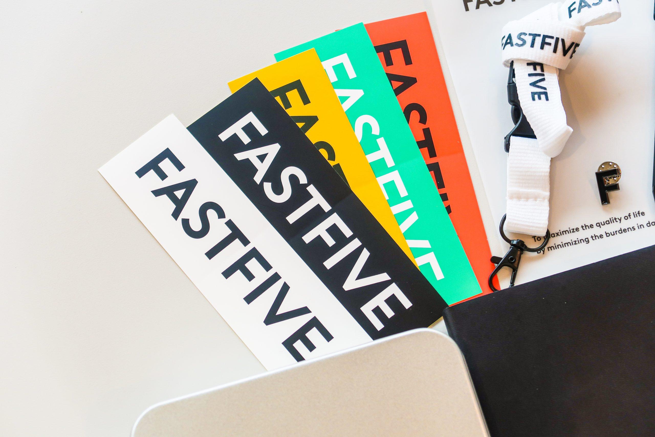 패스트파이브의 5주년을 축하합니다!
